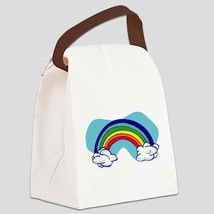 Rainbow-19-[Converted] Canvas Lunch Bag